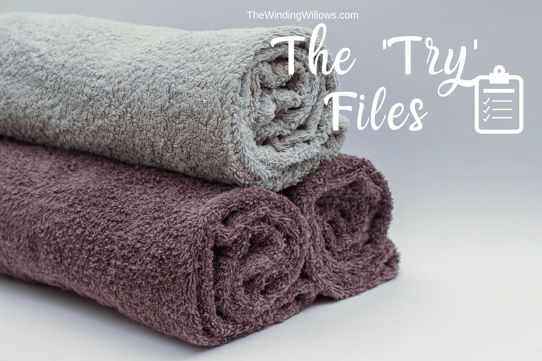 We tried different ways to remove the mildew smell from towels. See which one worked better.