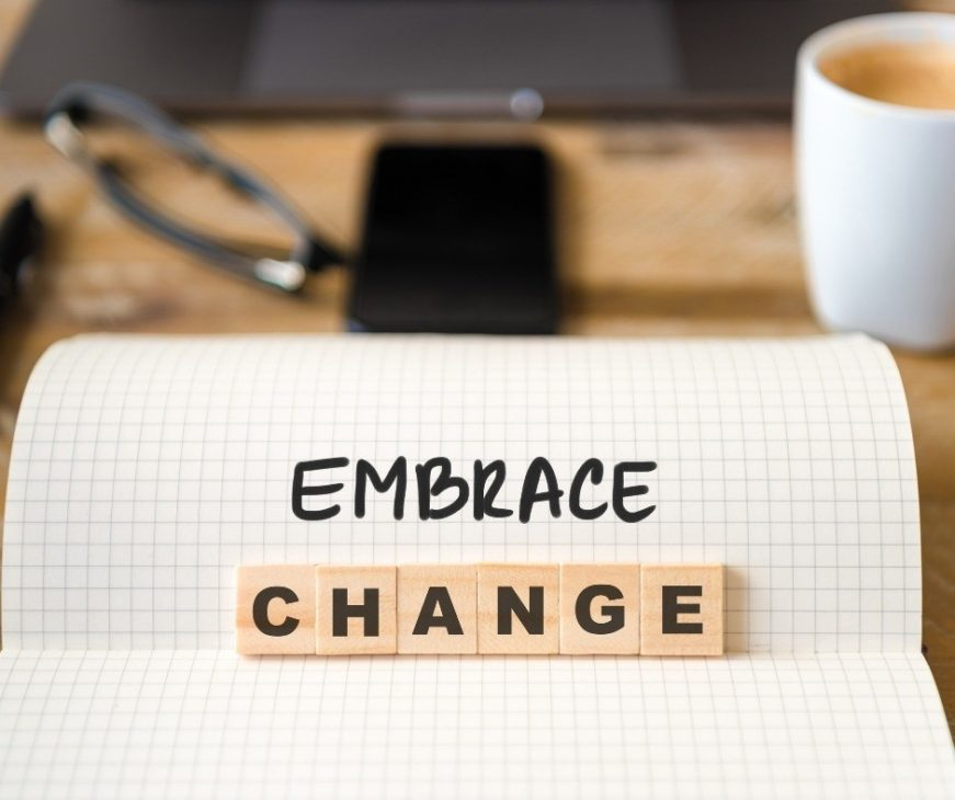 If you're struggling with life changes, don't always think that's a bad thing. Here are 7 reasons that change is important and we should embrace it. health change | family change | stepmom change | chronic illness