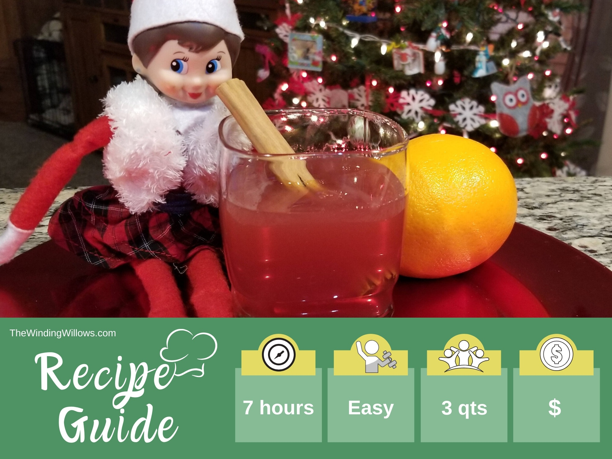 Mulled cranberry apple cider recipe guide