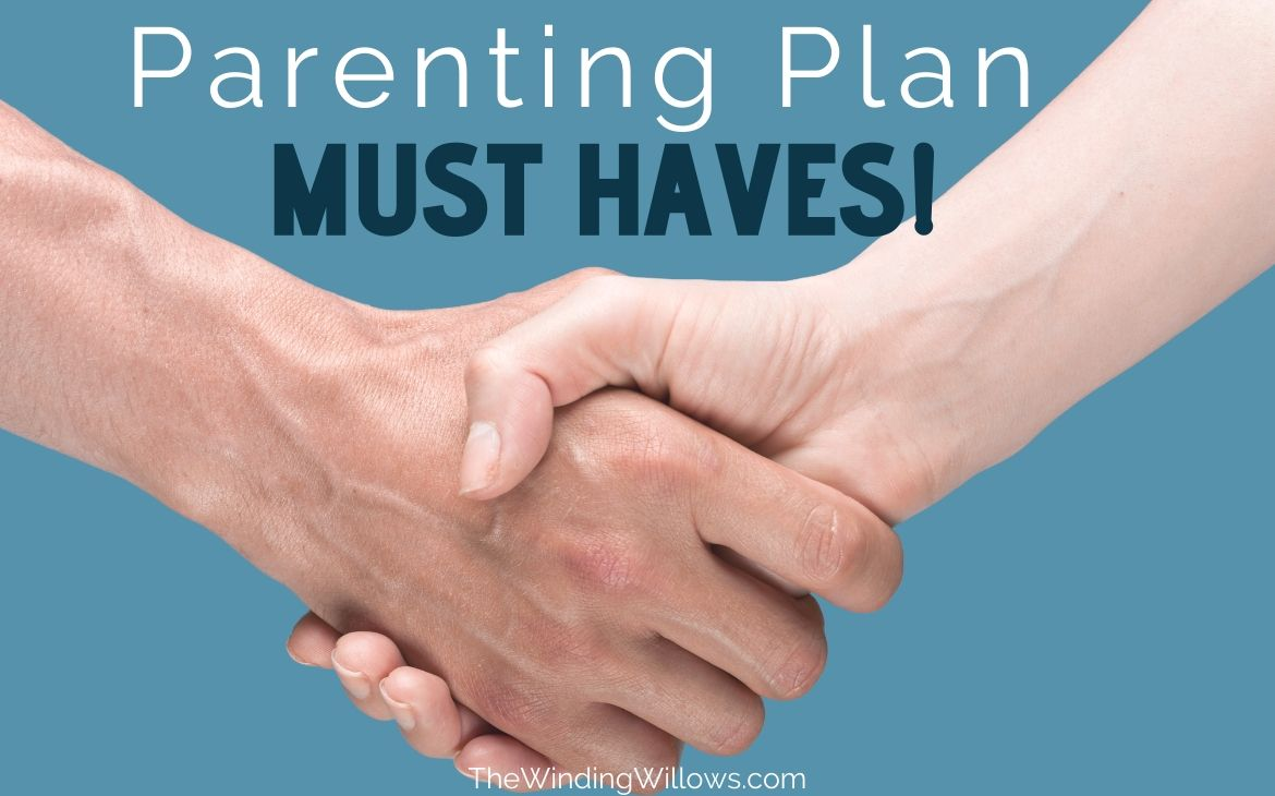 Parenting Plan Must Haves Featured